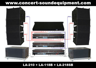 "Dual 10"" 480W Line Array Speaker With Neodymium Drivers"